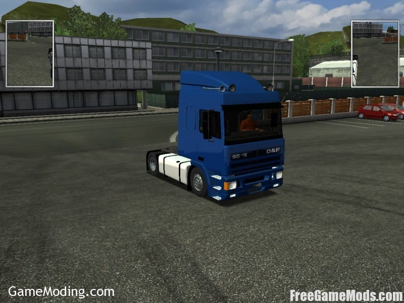 DAF 95 ATI 430 German Truck Simulator mods | GTS