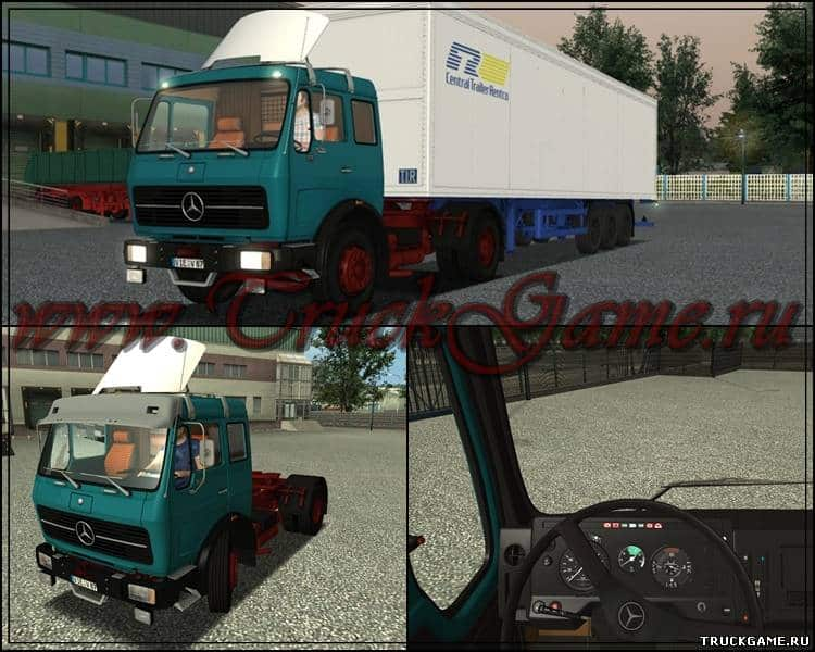 Mercedes NG 1632 S + interior German Truck Simulator mods ...