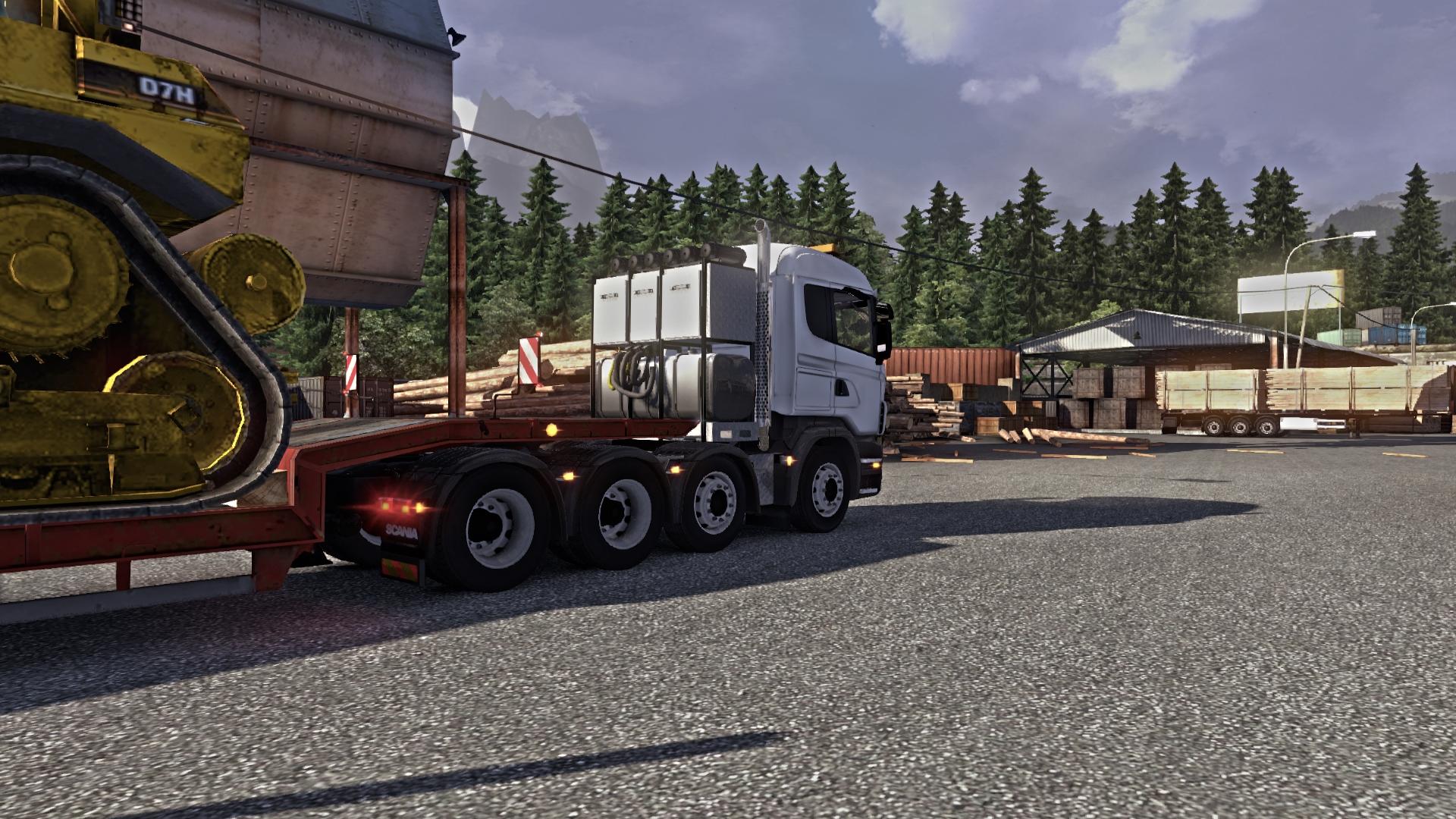 German Truck Simulator Game Crash
