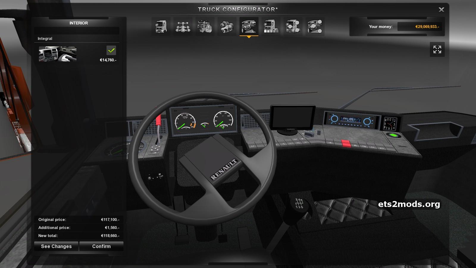 Mercedes Benz Sprinter 2018 >> RENAULT MAGNUM AE 390 + Interior German Truck Simulator mods | GTS
